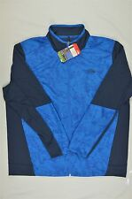 NEW MEN'S The North Face Ampere Performance Jacket Bomber Blue L $99 #76-85048