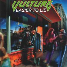 VULTURE - EASIER TO LIE (1992) Thrash Metal CD Jewel Case+FREE GIFT