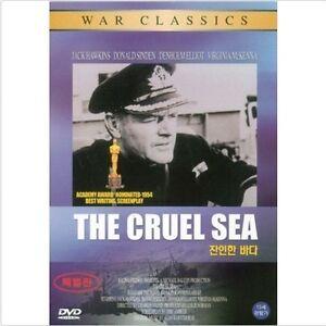 The Cruel Sea (1953) DVD - Jack Hawkins (New & Sealed) FAST SHIPPING