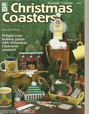 Christmas Coasters Holders Plastic Canvas Patterns Vicki Blizzard HOWB Book NEW