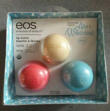 EOS Alice In Wonderland Limited Edition Disney Lip Balm Blue Vanilla Watermelon