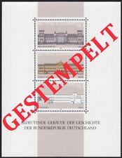 Bund BRD 1986 Block 20 gestempelt