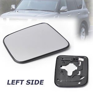 Fit For NISSAN NAVARA D22 1997-2015 Left Passenger Side Wing Mirror Glass Heated