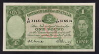 Australia R-31. (1949) 1 Pound - Coombs/Watt..  George VI..  aUNC