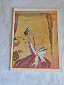 Vintage Programme Theatre de la renaissance vladimir barjansky Art deco cover