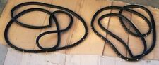 ISUZU KB26 KB41 UTE MODEL 1983 87  DOOR WEATHERSTRIP RUBBER SEAL PAIR LH+RH