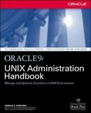 Oracle9I Unix Administration Handbook - New Paperback Book