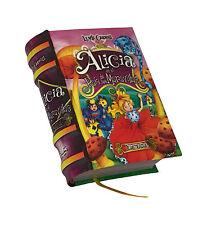 new Miniature Book Alicia en el Pais de las Maravillas Español version Ilustrada