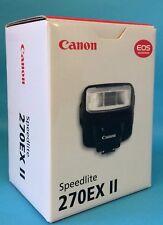 Canon 270EX II Speedlite brand new in box with full warranty