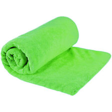 Sea to Summit Super Absorbent Fast Drying Microfibre Tek Towel in LIME Small S
