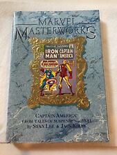 MARVEL MASTERWORKS #14 Capt America Tales of Suspense comics HC/DJ NEW sealed