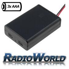 Triple Con Cable sostenedor de batería / Caja Aaa / R3 X3 Modelo / bricolaje / Juguetes / Rc