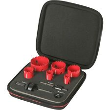 Rothenberger 9 Piece Plumbers Hole saw Kit 11.4202