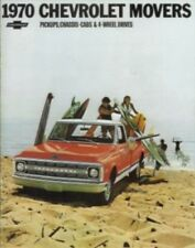 CHEVROLET 1970 Truck Sales Brochure 70 Chevy Pick Up