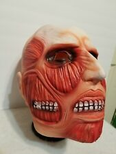 SCARY MONSTER HALLOWEEN THIN LATEX ADULT MASK HORROR