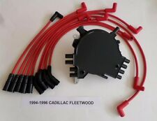 CADILLAC FLEETWOOD 1994-96 LT1 5.7L OPTISPARK Distributor & RED Spark Plug Wires