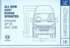 Truck Brochure - Dodge - Sprinter - Commercial Van - 2007 (T2375)
