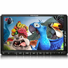 CREATONE CR-3012 AUTORADIO DVD 2DIN TOUCHSCREEN GPS NAVI EUROPA BT l 64GB USB+SD