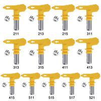 2/3/4/5/6 Series Reversible Spray Tips for Airless Paint Sprayer Spray Gun