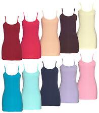 Damen-Trägerhemden aus Baumwolle keine Mehrstückpackung