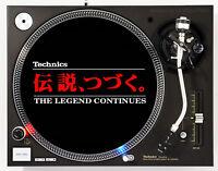 TECHNICS LEGEND  - DJ SLIPMAT 1200's or any turntable