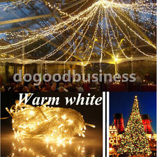 220V 10M Multicolor String Fairy Wedding Light Lamp Xmas Party Christmas Decor