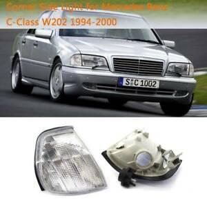 Left Turn Signal Light Fit for Mercedes Benz C Class W202 1994-2000 Plastic Lens