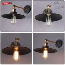 Retro Wandlampe Leuchte Gartenlampe Loft Industrie Garten Außenlampe Metall DHL
