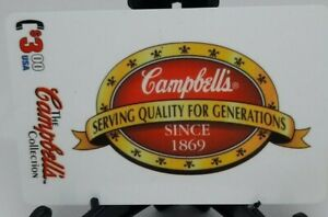 1995 Campbell's Soup Serving Quality  phonecard - box insert by Collect-A-Card