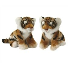 Tiger Cub Plush Soft Toy Animal - 25cm Cuddly Living Nature