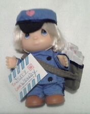 Precious Moments Boy Mail carrier Doll