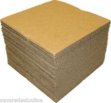 """(50) 12NCPAD Cardboard 12"""" Vinyl Record LP Shipping Pads Squares Inserts 12-7/16"""