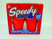 *NEW* Mini Speedy Cup Stacking Challenge Game Great Family fun, Choose colour