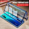 360 Cover per Huawei Honor 20 Pro 10 Lite 9X custodia metallo 9H vetro temperato