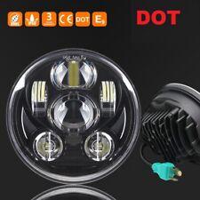 "DOT Round 5-3/4"" 5.75 LED Headlight Sealed Headlamp Projector Hi/Lo Beam"
