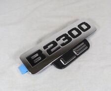 MAZDA B2300 LE EMBLEM 94-10 NEW OEM FRONT FENDER CHROME BADGE sign logo symbol