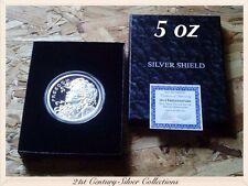 SBSS 5 oz 2014 FREEDOM GIRL Proof Coin Silver Shield COA