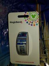 NEW Disney R2D2 R2-D2 Star Wars BLUE Magic Band 2 2.0 Magicband! Link Later