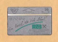 Privatkarte P3 RZB Musterkarte