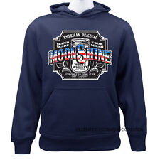 American Original Moonshine Whiskey Casual Graphic Pullover Hoodie