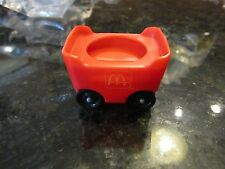 Vintage Fisher Price Little People Chunky McDonalds fry cart french coaster car