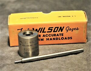 L.E. WILSON ~ 223 REMINGTON. DECAP PUNCH AND BASE SET ~ BRAND NEW OLD STOCK ~