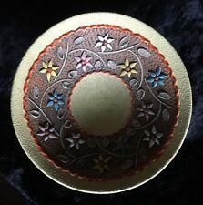 Mid-Cent. Italian Terracotta and Enamel Pedestal Bowl - Bitossi for Ros.Netter