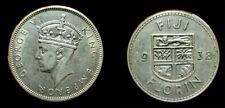 Fiji 1938 Florin, Rare High Grade, High Grade , Luster, Sharp, Low Mtg 20,000