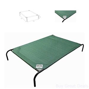Extra Large Dog Pet Cat Bed Elevated Outdoor Indoor Durable Portable Hammock Bed