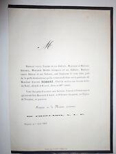 Auguste ROBERT chef chemin de fer du  NORD 1863 Famille,DUPARCQ,DHELLE,GUERQUIN