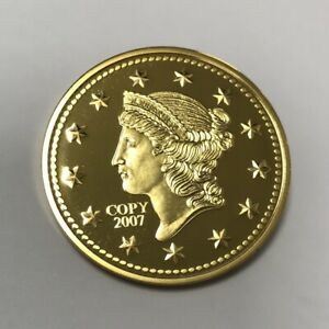 Médaille - Réplique de 1 Dollar 1849 - Etats-Unis - 2007