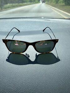 Ray•Ban 4210 LightRay 6244/4V 50/22/140 3N Tortoise Purple Mirrored Sunglasses