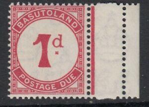 BASUTOLAND SGD1a 1938 1d SCARLET POSTAGE DUE - MNH