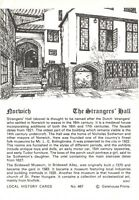 Postcard / Local History Card The Strangers Hall, Norwich by Gatehouse Prints